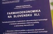 Pacienti na vedeckej medzinárodnej konferencii Farmakoekonomika na Slovensku XLI.